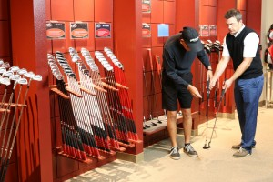 What does Gap fit mean when fitting golf clubs?